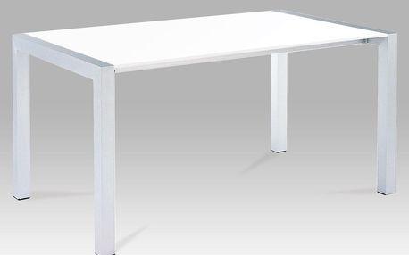 Jídelní stůl rozkládací bílý lak ALA 05047