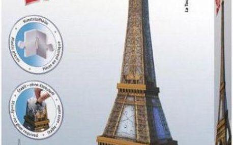 3D puzzle eifellova věž 216 dílků