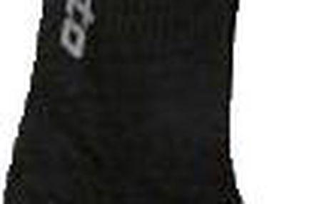 Lotto ponožky černá 3 páry 35/38