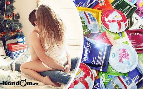 Vyskládej si vlastní balíček kondomů až o 53 ks! 3 kondomy značky One Tuch zdarma, poštovné v ceně!