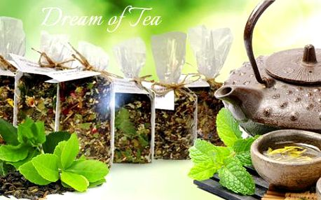 Dárková kolekce čajů - Hřejivá relaxace. 6 druhů čajů po 40g v jedné kolekci. Poštovné již neplatíte!