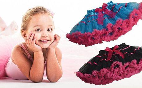 Dívčí oblíbená móda - různobarevné tutu…
