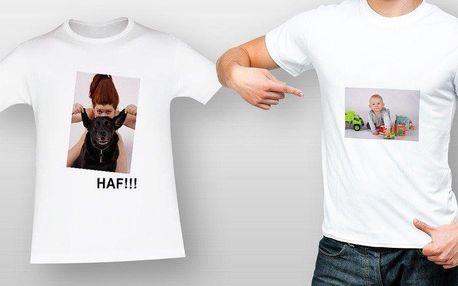 Tričko s vlastní fotkou nebo obrázkem