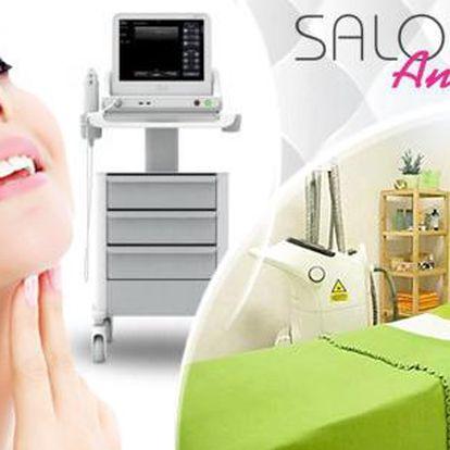 Ultherapy - ultrazvukové ošetření HIFU face. Liftingové ošetření pro ošetření obličeje, krku, dekoltu i podbradku.