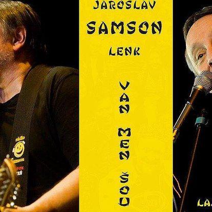 Vstupenka na koncert Jaroslava Samsona