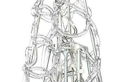 LED vánoční stromeček pyramida barevné světlo