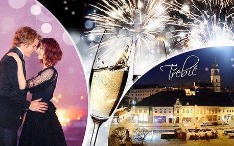 Romantická Třebíč - SILVESTR! 3 dny pro dva s polopenzí, silvestrovkým menu, půlnočním přípitkem a wellness!