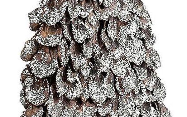 Dřevěný vánoční stromeček 40 cm2