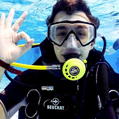 Potápěčem na 1 den – ponor v bazénu až do 5 m
