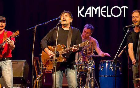 Vstupenka na koncert Kamelotů v Hybernii