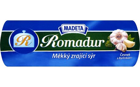 Madeta Madeta Romadur česnek s bylinkami 100g