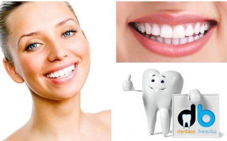 Výměna jedné amalgámové plomby za bílou plombu. Konzultace a snímek ústní dutiny zdarma.