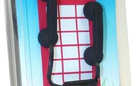 Sluchátka retro telefon