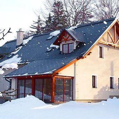 3–5denní pobyt v penzionu Vital v Jizerských horách pro dvě osoby se snídaněmi