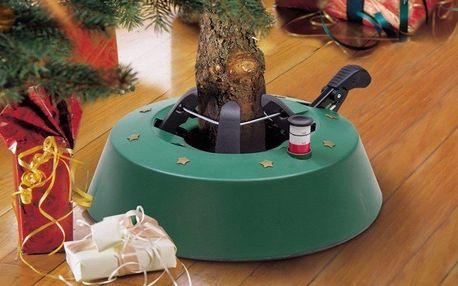 Stojánek na vánoční stromek a umělý vánoční stromek