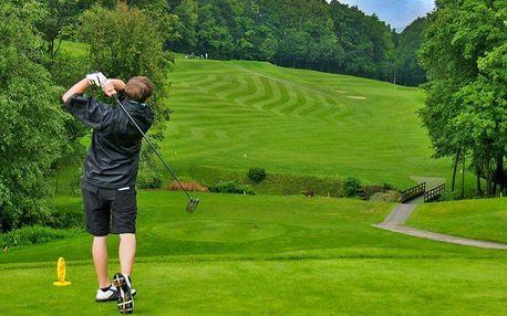 Den plný golfu na hřišti v Holešově