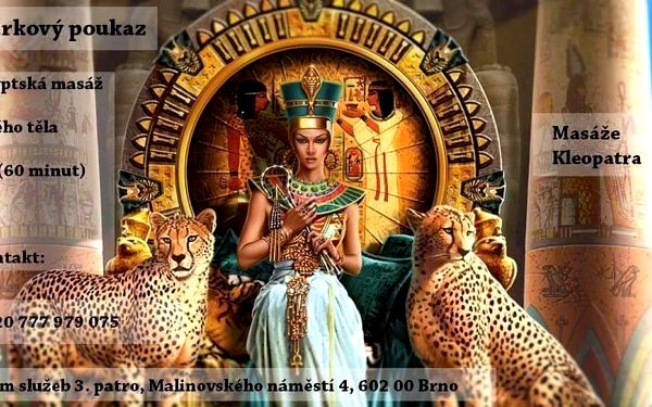60minutová egyptská masáž3