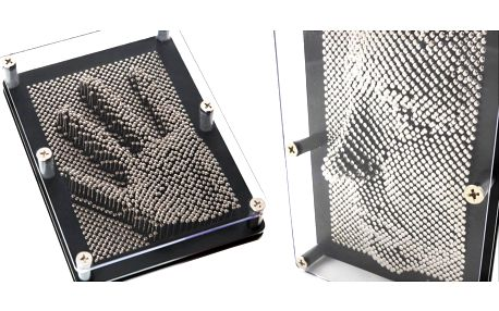 3D ocelové obrazce na otisky