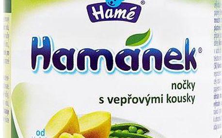Hamánek Kojenecká výživa nočky s vepřovými kousky 230 g