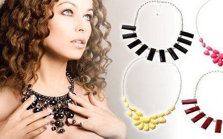 Překrásné dámské náhrdelníky, které si snadno a rychle získají zaslouženou pozornost a srdce každé parádychtivé ženy. Na výběr máte mnoho druhů i barevných provedení. Všechny však spojuje velmi poutavý design a kvalitní zpracování dělají z těchto šperků d