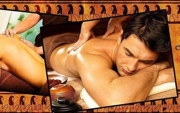 Egyptská masáž dle vlastního výběru od rodilého Egypťana5