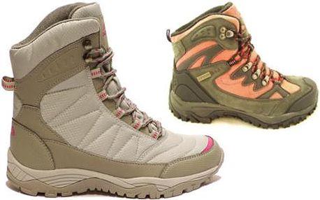 Dámská zimní sportovní obuv dle výběru