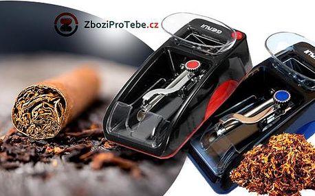 Elektrická cigaretová plnička! Přístroj naplní až 20 cigaret během pár minut! Vhodná pro všechny typy tabáků!