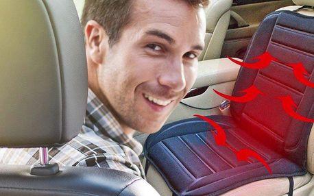 Vyhřívaný autopotah pro řidiče