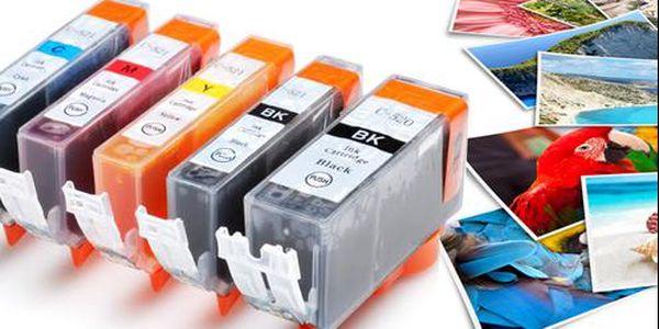 Kvalitní kompatibilní náplně pro tiskárny Canon s poštovným zdarma