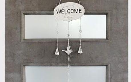 Závěsná dekorace na dvěře Welcome