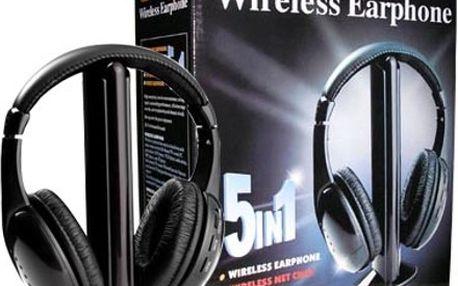 Bezdrátová sluchátka 5 v 1 Quer SLU0036