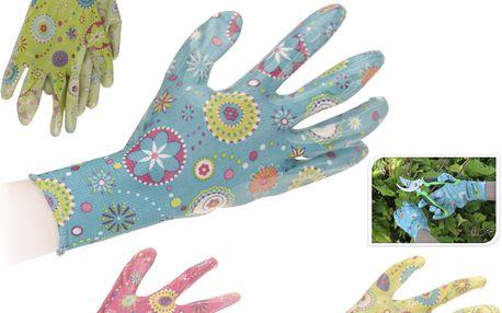 Zahradnické rukavice velikost M,