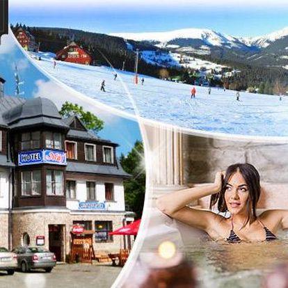 Krkonoše - Pec pod Sněžkou! Až 4 dny pro 1 osobu včetně plné penze, wellness a slev! Platnost do června 2016!