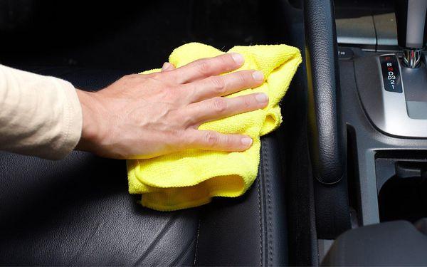 Hloubkové čistění sedadel a interiéru vč. tepování4