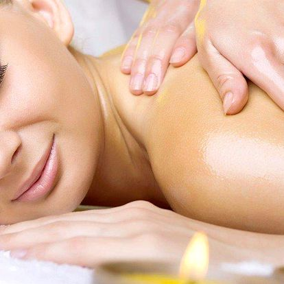 30minutová egyptská masáž zad