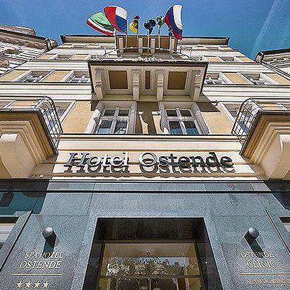 3 až 5 dní s polopenzí a procedurami pro 2 osoby v hotelu Ostende v Karlových Varech