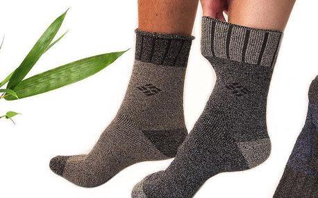 6 párů zdravotních thermo ponožek