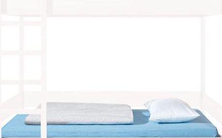 BRW HIHOT, dolní postel, dub světlý (POUZE K PATROVÉ POSTELI)