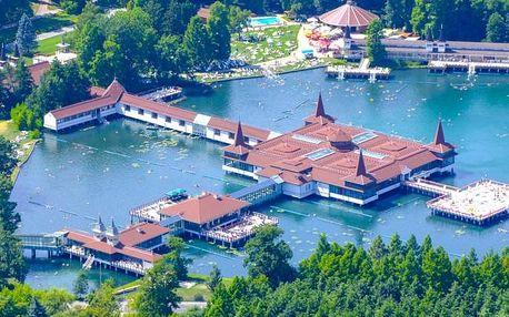 Relaxační pobyt u maďarského jezera Hevíz