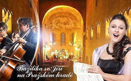 Koncert v bazilice sv. Jiří: Hudba Pražského hradu - Vivaldi, Mozart aj. Desítky termínů, místa v 1 řadách do dubna 2016.
