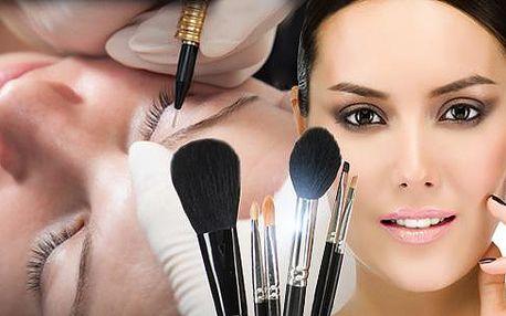 Permanentní make-up v Pardubicích! Zvýraznění rtů s možností celoplošné výplně, horních i dolních linek či obočí!
