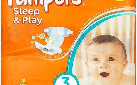 Pampers Sleep&Play Pleny 3 Midi 78 ks