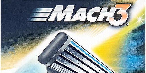 Gillette Mach3 Náhradní hlavice do holícího strojku 8 ks3