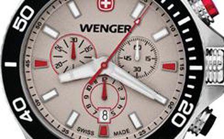 Wenger Sea Force Chrono 01.0643.105 + dárek v hodnotě až 1300 Kč nebo 5% sleva, doprava ZDARMA, záruka 3 roky