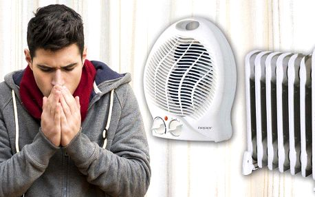 Teplovzdušné ventilátory nebo olejový radiátor