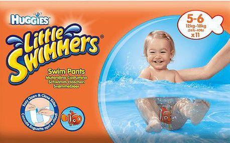 HUGGIES Little Swimmers vel.5-6 (12-18kg) 11ks - jednorázové pleny do vody