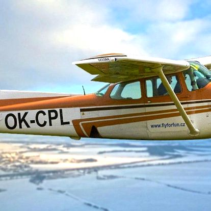 Staňte se pilotem skutečného letadla