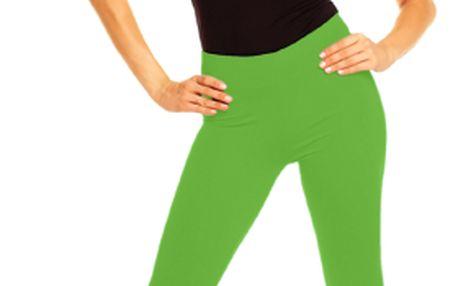 Akce - Dlouhé legíny – zelené XL