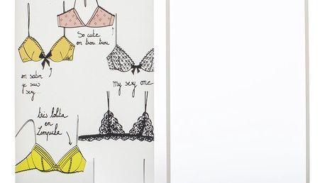 Tvrzené ochranné sklo IPhone 6, 6 plus s motivem Bikini OF0004-0101