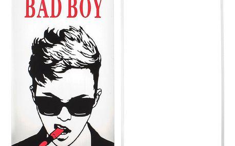 Tvrzené ochranné sklo IPhone 6, 6 plus s motivem Bad boy OF0004-0203